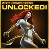 Phoenix White Crown Unlocked
