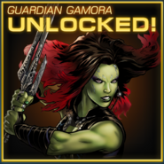 Guardian Gamora Unlocked