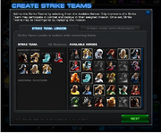 Strike Team Create