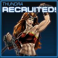 Thundra Recruited