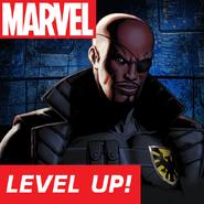 Nick Fury FB Level Up!