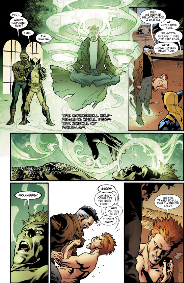 Dr. Strange Scroll of Melsalam