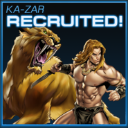 Ka-Zar Recruited