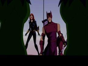 Hawkeye Widow Meet Hulk AEMH