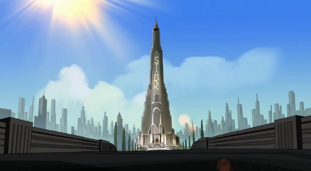 Stark tower comics