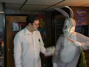 The Nerd and Bugs Bunny meet again