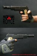 A Predators pistol
