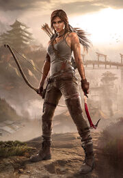 Lara Croft in 2013 Tomb Raider