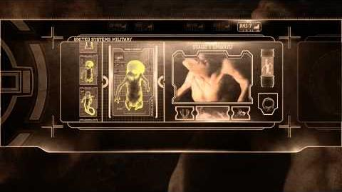 Alien Resurrection (1997) - Blu-ray menu