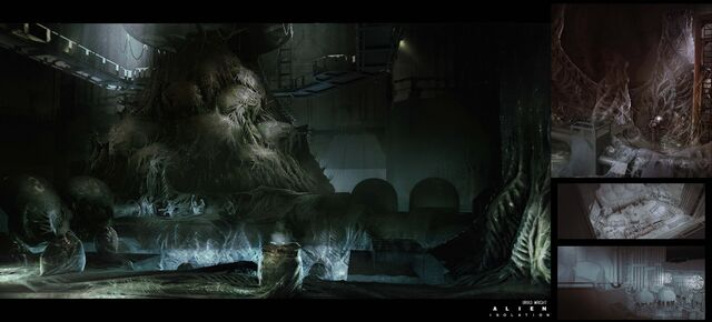 File:Alien Isolation Concept Art BW reactor-core-hive2.jpg