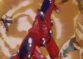 Super hatchyack hits gohan
