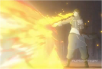 Roy Mustang Repeatedly Burning Lust to Death in Brotherhood