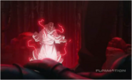 Father is Attacked by the Souls That Hohenheim Became Friends With