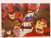 Yukimura, Lord Shigen and Sasuke