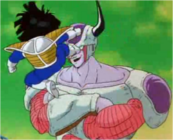 Gohan Fighting 2nd Form Frieza