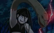 Envy Transforming His Arm into Snake
