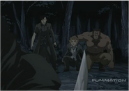 Edward Elric's Group is Saved by Lanfan