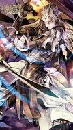 Queen of Swords Wallpaper
