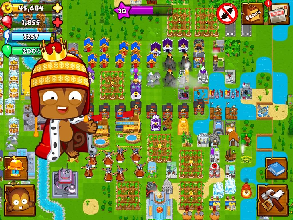 Image Christmas King Monkey Jpeg Bloons Wiki Fandom