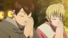 S1E8 Eiichiro Natsu making wishes