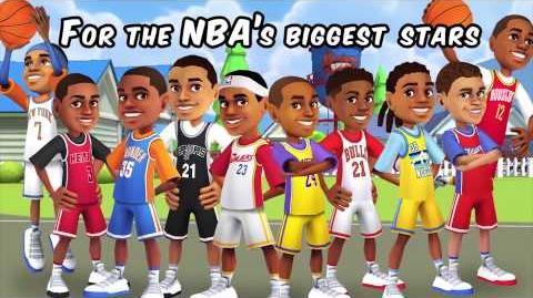 Backyard Sports PowerUps NBA Basketball 2015
