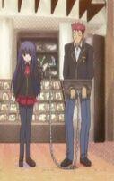 Shouko x yuuji in chain