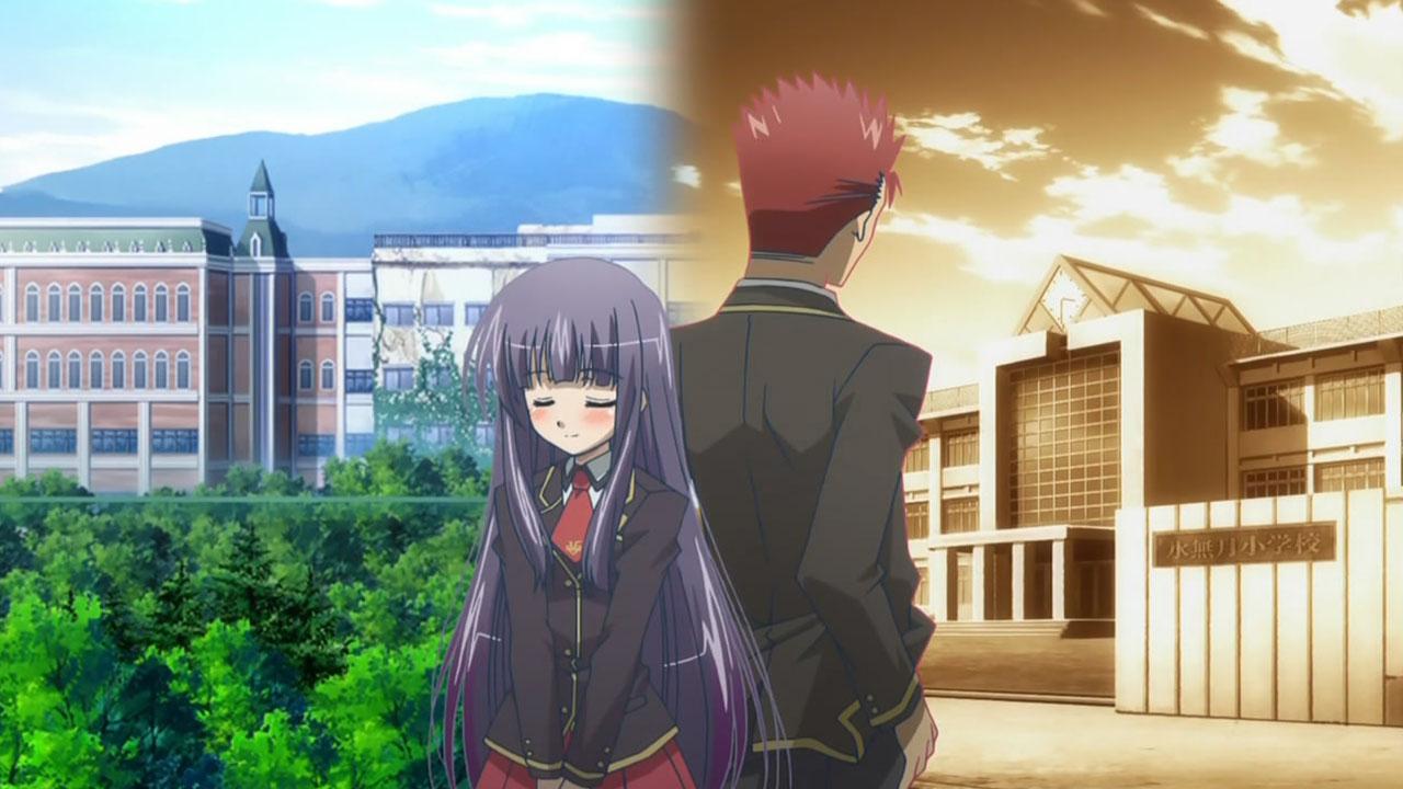 Yuuji, Shouko and Their Childhood Memories | Baka to Test ...  Yuuji, Shouko a...