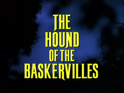SHG title card The Hound of the Baskervilles