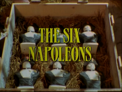 SHG title card The Six Napoleons