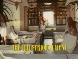 SHG title card The Illustrious Client