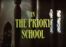 SHG title card The Priory School