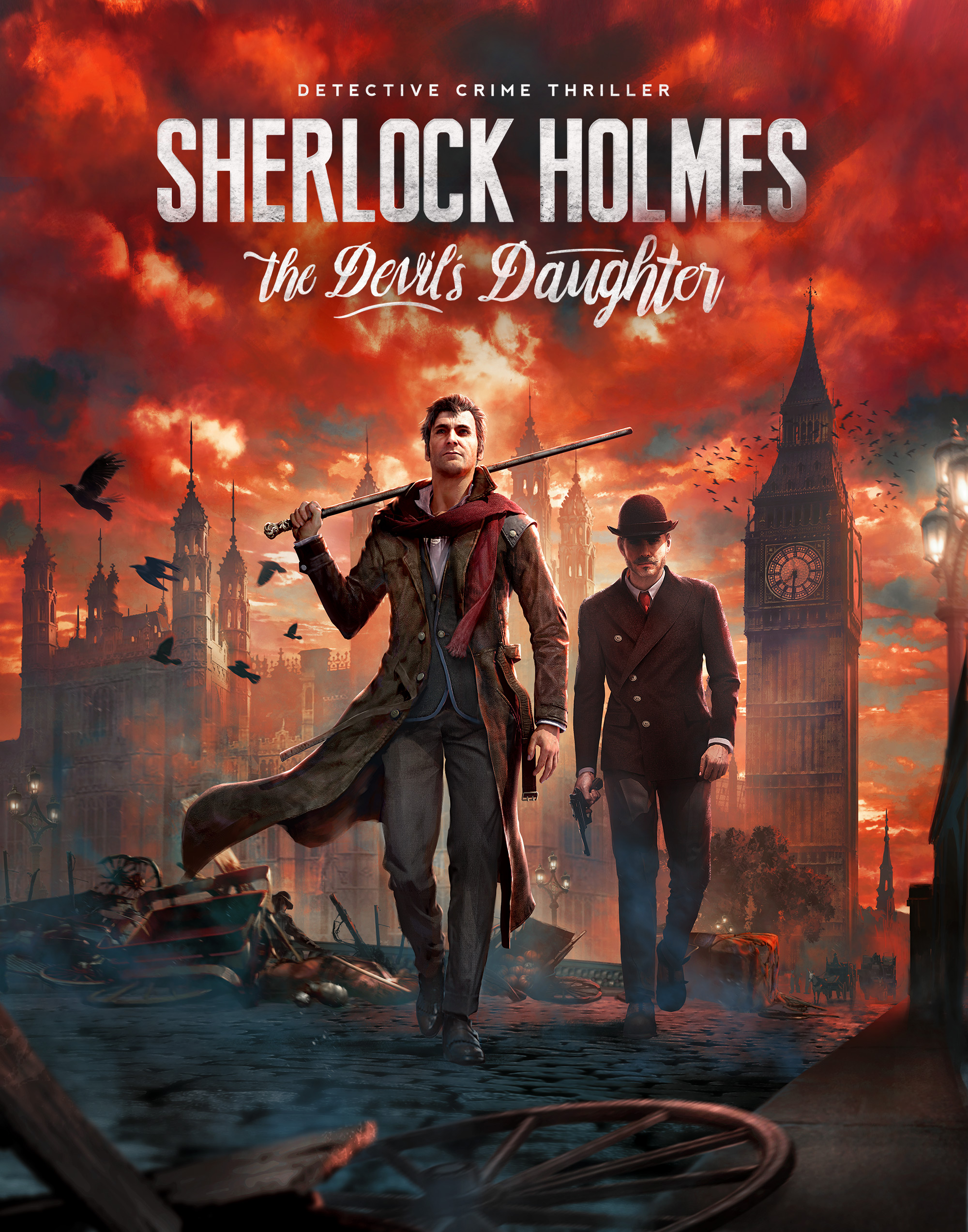 Image result for sherlock holmes devils daughter