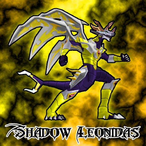 Bakugan Shadow Leonidas Haos Shadow Leonidas bc