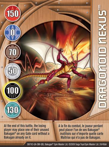 Ultimate Dragonoid  Bakugan Wiki  FANDOM powered by Wikia