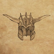 Helm Horned 2 item artwork BG2