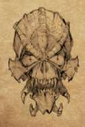 Skull of Death item artwork BG2