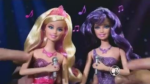 Barbie™ The Princess & The Popstar - 2 in 1 Dolls - Commercial