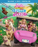 Puppy Chase Combo Pack Blu-ray DVD Digital Copy Front Cover