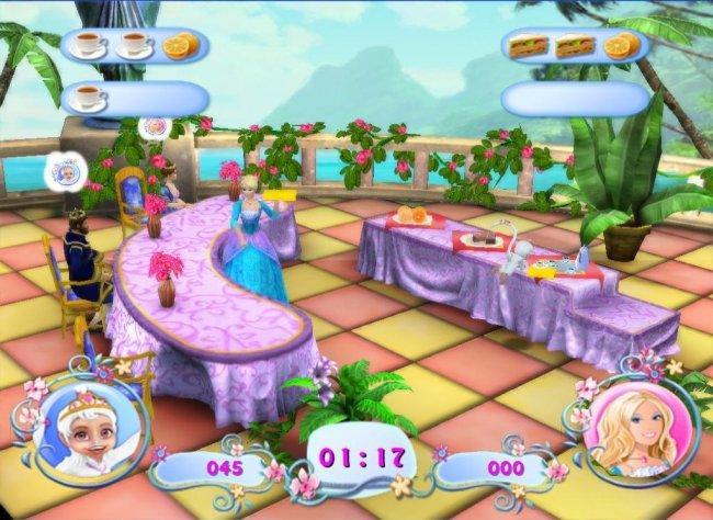 Barbie As The Island Princess Video Game