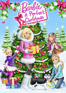 Barbie A Perfect Christmas DVD Cover