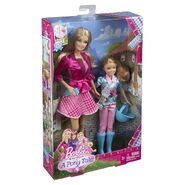 Barbie and Stacie dolls boxed