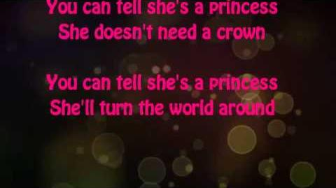 You Can Tell She's a Princess Lyrics