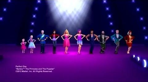 Video Barbie The Princess Amp The Popstar Bloopers