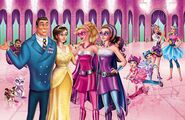 Book Illustration of Princess Power 12