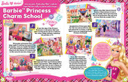 Barbie Princess Charm School Storybook Scenes