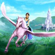Barbie & The Diamond Castle Dori and Glimmer