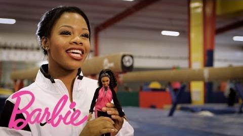 Introducing The Gabby Douglas Barbie Doll