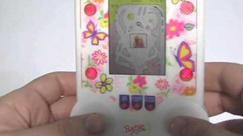 Barbie for Girls Shakin' Pinball (LCD handheld, 1995) -- FEMICOM.org