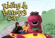 Barney Friends Riding In Barney S Car Vhs