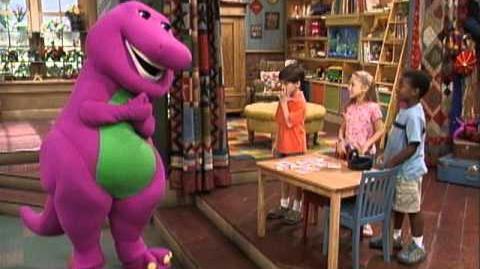 Barney Shake Your Dino Tail! - Clip